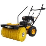 Texas Handysweep 650 TG Power Brush c/w collection hopper